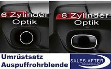 Original BMW X5 E70 Auspuffrohrblende Auspuffblende Endrohrblende V8 4.8i Optik