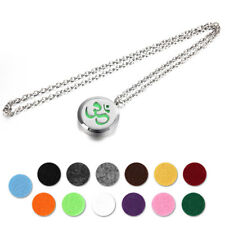 AU Stock Essential Oil Diffuser Locket Pendant Aroma Perfume Necklace + 13 Pads