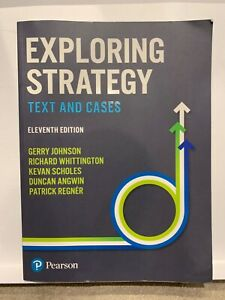Exploring Strategy Texts and Cases Pearson 11th Edition Used