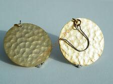 Boucles d'oreilles Sequin Pampilles 100% Acier Inox Or