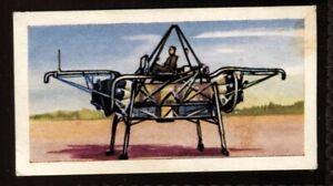 Tobacco Card, Amalgamated, Mills, HISTOIRE DE L'AVIATION,1962,Lit Cage Volant,38