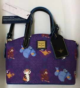 BNWT Disney Parks Dooney and Bourke Aladdin Satchel Zip Crossbody Bag Purse