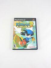 KLONOA 2 Lunatea's Veil SONY PlayStation 2 CIB Complete in Box video game PS2