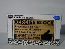Big Mouth EXERCISE BLOCK Novelty Gift for Sweat-Free Exercise NEW BOX KOHL'S