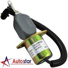 New Fuel Shut Off Solenoid For Ford 5.9L 8.3L Cummins Diesel 2-1/2 Bolt Spacing