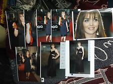 COLLECTION OF 8 x PRESS AGENCY PHOTOGRAPHS - VICTORIA PENDLETON CYCLING OLYMPICS