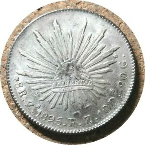 elf Mexico 8 Reales 1895 ZsFZ