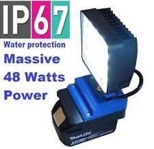 Makita super high power 48w work light with 180 degree adjustment