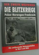 La deuxième guerre mondiale-Les guerres éclair-pologne-Norvège-France/recueil