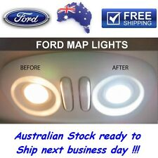 Ford Territory ULTRA WHITE LED Interior Upgrade Kit 4x Map Lights 1x Dome Light