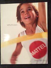 Vintage  Mattel Toys 1986 Catalog   He-Man / Barbie / Hot Wheels / My Child