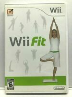 Wii Fit (Nintendo Wii) Complete Game Case Manual | Fitness Game