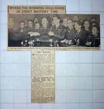 1949 Bombardier Watson Kingston Drill Hall Caretaker F A Hounsell Olive Vercoe
