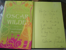 Oscar Wilde and the Candlelight Murders - Gyles Brandreth SIGNED COPY,HARDBACK