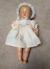 "Vintage 14"" Composition & Cloth Doll Tin Eyes Parts Repair/Restore"