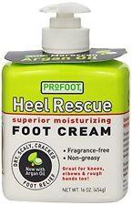 Profoot Heel Rescue Foot Cream Dry Scaly Relief 16 Oz