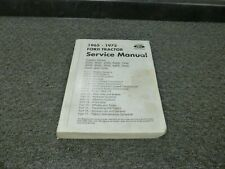 1965-1969 Ford 3500 3550 4400 Tractor Shop Service Repair Manual 1966 1967 1968