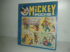 MICKEY POCHE MENSUEL n° 15 WALT DISNEY 1975