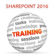 SHAREPOINT 2016 - Video Training Tutorial DVD