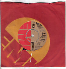 """Northern Modern 70's Soul 7""""-Jesse Green-Come With Me/Instrumental-UK EMI issue"""
