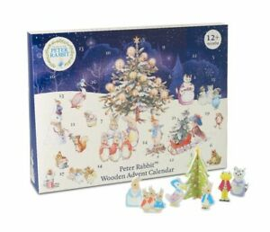 Wooden Advent Calendar Peter Rabbit