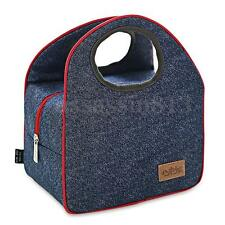 Fashion Portable Insulated Oxford Cloth Thermal Food Camping Picnic Lunch Bag