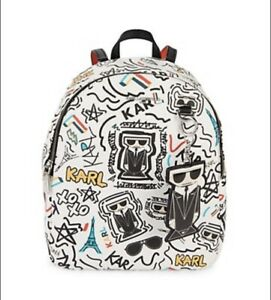 Karl Lagerfeld Paris Mini Faux Leather Backpack Brand New with Tags