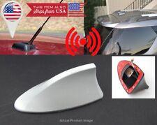Roof White Shark Fin Vortex Stereo Radio Aerial Signal Antenna for Honda Acura