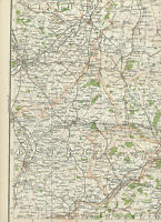 2310 1898 MAP of Royal Atlas of England & Wales Pl.31 PETERBOROUGH Cambridgeshir