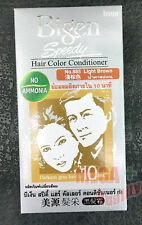Bigen Speedy Hair Color Conditioner Darkens gray hair 10 MIN. Light Brown No.885