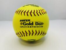 "Used Worth 12"" Softball Super Gold Dot Asa .44 Cor Ys44Rsa3 Ag00247"