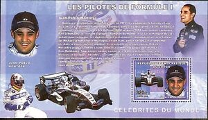 Formula 1 drivers & cars automobiles JP Montoya 2006 s/s MNH #CDR0612d