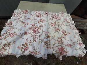 American Living Pair of King Pillow Shams-Hillsborough-Blue Stripes & Florals