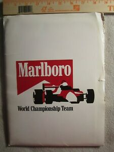 EMERSON FITTIPALDI / Patrick Marlboro Indycar Racing Media Kit. 1986