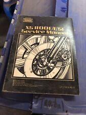 Yamaha XS 1100E F SF Service Manual LIT-11616-XS-11