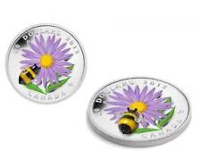 20 $ Aster Bumble Bee Bumblebee Murano Glass Canada 2012 PF Silver 1 oz