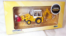1980'S JCB 3CX BACKHOE LOADER EXCAVATOR/DIGGER 76JCX001 OXFORD CONSTRUCTION 1/76