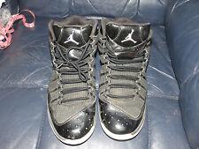 RARE Nike Air Jordan Play In These F Black Patent Sz 10.5 440894-010