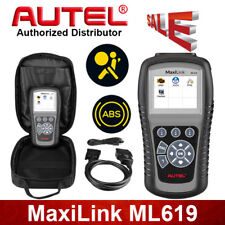 Interface Diagnostique AUTO MultiMarques AUTEL AutoLink ML619 Valise Diag OBD2