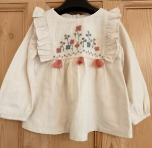 New with Tags Baby Girls Top by M&S size 12-18 Months