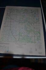 1940's Army (like USGS) topo map Mango Florida  4539 IV NE Brandon