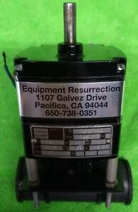 BODINE GEAR MOTOR, KCL-23T4, 22 RPM, 115VAC, capacitor start, WORKS GREAT