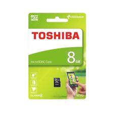 Toshiba 8GB 8 GB M102 MicroSD Micro SD HC Flash Card Class 4 TF