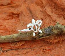 Adjustable Turtle Toe Ring-Sterling Silver-Knuckle,Summer,Bea ch,Honu,Hawaiian