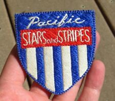 WW2 US Army Military Pacific Stars Stripes War Correspondent Japanese Made Silk