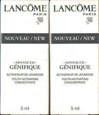 Lancome Advanced Genifique Youth activar concentrado 2 X 5ml - 30ml Nuevo Y En Caja