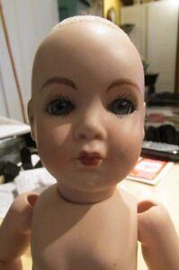 """VINTAGE 1988 Bisque 12"""" Porcelain Doll  Dot Faithcock?"""