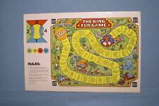 Burger King 1978 - The King Fun Game