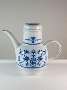 Melitta Friesland Kaffeekanne Berlin Friesisch Indisch Blau Zwiebelmuster selten
