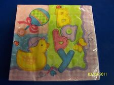 Hugs & Stitches Baby Shower Party Luncheon Napkins